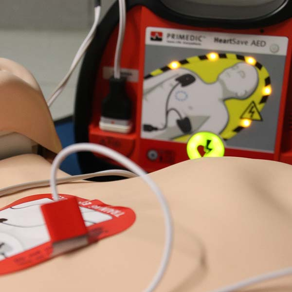 Basic Life Support and Safe Use of an Automated External Defibrillator
